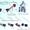 Линия по производству тротуарной плитки и шлакоблока #1253835
