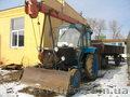 Трактор МТЗ - 80. Погружчик с вышкой 7 м. Прицеп