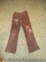 брюки-вельвет для девочки