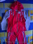 Малиновый костюм новый