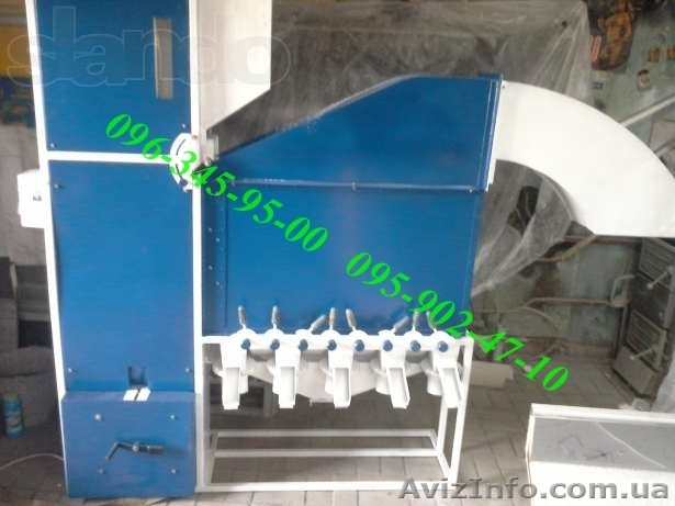 Продам сепаратор для чистки и калибровки зерна САД-5, Объявление #1230963